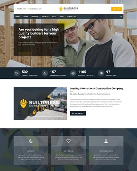 website theme construction