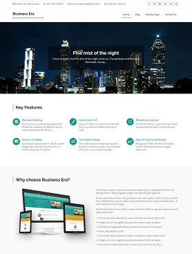 website template paralaxsome